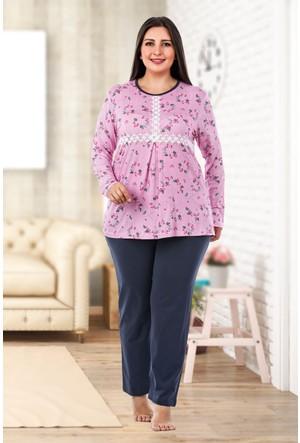 Lady Lingerie Büyük Beden Pijama Takım 126