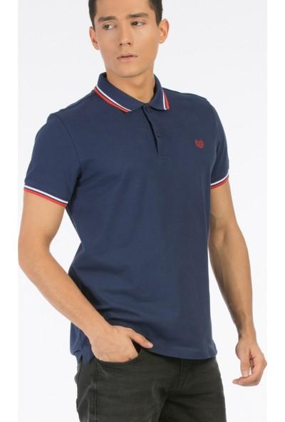 Colin's Lacivert Erkek Polo T-Shirt Kısa Kol Lacivert