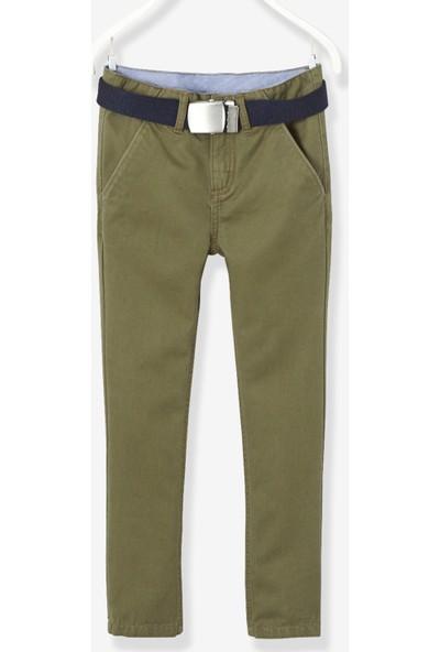Vertbaudet Erkek Çocuk Haki Pantolon