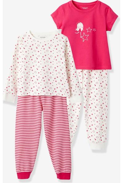Vertbaudet Kız Çocuk Pijama 2'li Set
