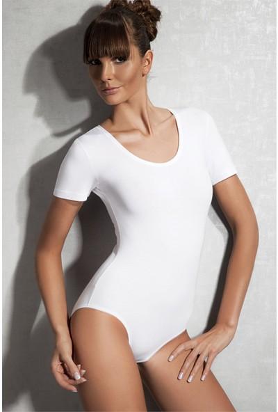 Doreanse Beyaz Kadın Body 12301