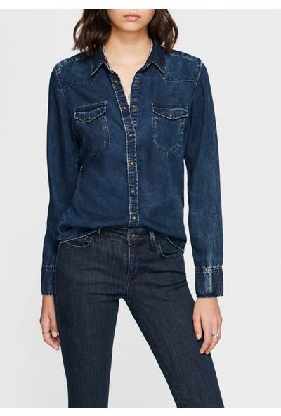 Mavi Kadın Eliza Gold Indigo Jean Gömlek
