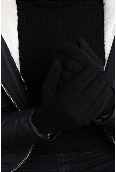 Rodinhills Siyah Erkek Düz Eldiven