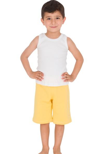 The Don Sarı Renk Erkek Çocuk Uzun Şort