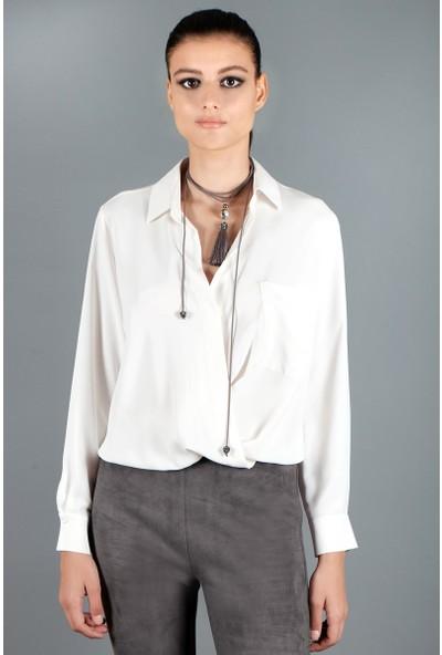 Spazio Furla Şifon Body Bluz