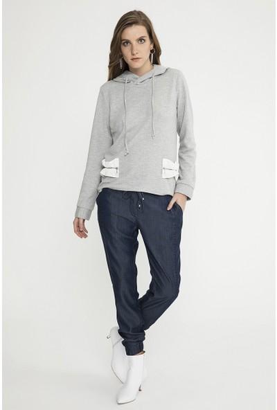 Just Like You 037 Gri Sweatshirt