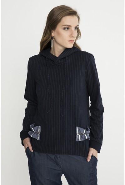 Just Like You 037 Lacivert Sweatshirt