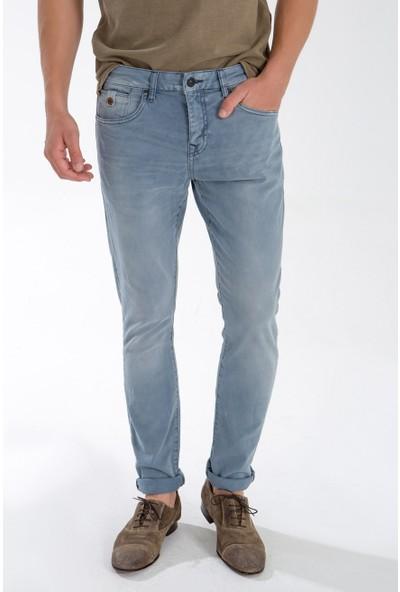 LTB Erkek Joshua Cool Air Undamaged Wash Jean Pantolon Açık Mavi