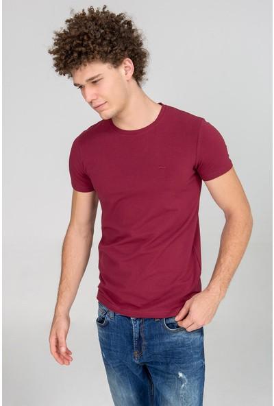LTB Erkek Millenium T-Shirt Bordo