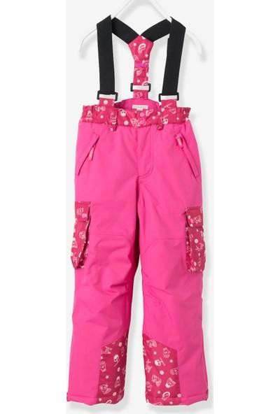 Vertbaudet Kız Çocuk Eflatun Kayak Pantolon