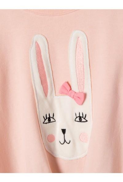 Vertbaudet Kız Çocuk Tavşanlı 2'li Set