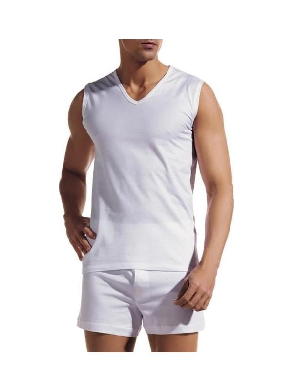 Eros 2'Li V Yaka Kolsuz T-Shirt 031