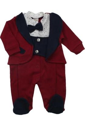 Modakids Erkek Bebek Papyonlu Tulum 035-225112-007