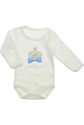 Modakids Kız Bebek Taşlı Uzun Kol Body 035-225782-015