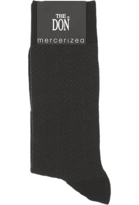 TheDON Desenli Merserize Erkek Çorap 3'lü Paket