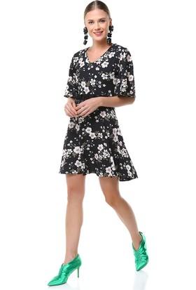 Nil Çiçekli Kobe Elbise Cristina