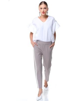 Nil Yanı Şeritli Pantolon