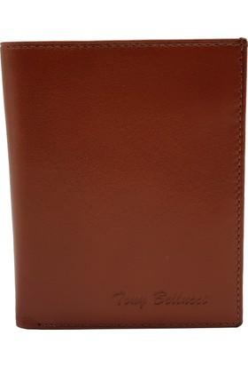 Tony Bellucci T137-940 Napa Taba Gerçek Deri Erkek Cüzdan