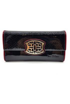 Tony Bellucci T520-993 Rugan Siyah Gerçek Deri Bayan Cüzdanı
