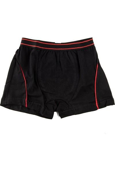 Tutku Likralı Erkek Çocuk Boxer 6'lı Paket (6 Adet)