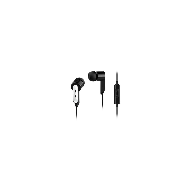 Philips She 1405bk Mikrofonlu Kulak I Kulaklk Siyah Fiyat Jgos17 In Ear Headphone With Mic She1405 Black