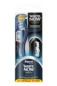 Signal White Now Men + Signal Style Tech Toothbrush