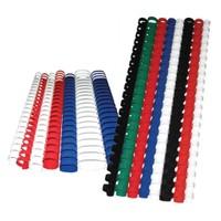 Sistem Spiral 38 mm Plastik Siyah 50 lü Cilt Spirali