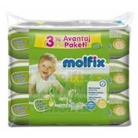 Molfix Islak Havlu Bebe Losyonlu Avantaj Paketi 60x3 180 adet