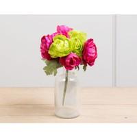Madame Coco Dekoratif Yapay Çiçek Düğün Çiçeği
