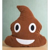 Kaka Emoji Yastık Peluş