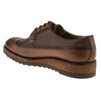 Fosco 6520 Oxford Bağlı Klasik Taba Erkek Ayakkabı