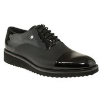 Fosco 6590 Bağlı Klasik Siyah Erkek Ayakkabı