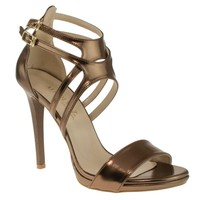 Alisolmaz 3050 Çift Toka Bronz Kadın Ayakkabı