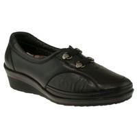 Forelli 26201 Siyah Cift Flex Bantli Kadın Ayakkabı