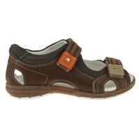 Toddler 3554 Cansucan Çift Cirt Kahverengi Çocuk Sandalet