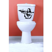 I Love My Wall TVS-10 Banyo Duvar Sticker ( Sticker hediyeli! )