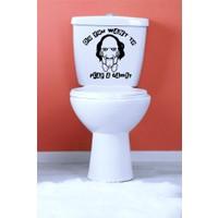 I Love My Wall TVS-18 Banyo Duvar Sticker ( Sticker hediyeli! )