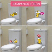 I Love My Wall TVS-27 Banyo Duvar Sticker ( Sticker hediyeli! )