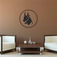 I Love My Wall Boğa03 Duvar Sticker ( Sticker hediyeli! )