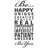 I Love My Wall Duvar Sticker Happy... ( Sticker hediyeli! )