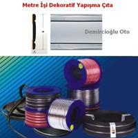 Demircioğlu 5 Metre Çıta Gri Nikel Kuşaklı 48Mm