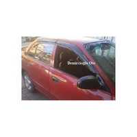 Door Visor Hyundai Accent Yumurta Kasa Mugen Model Ön Arka Set Cam Rüzgarlığı