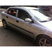 Door Visor Opel Astra G Mugen Model Cam Rüzgarlığı Ön Arka Takım
