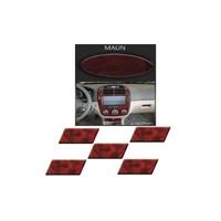 Demircioğlu Hyundai Accent Era 2007 Sonrası 23 Parça Maun Renk Torpido Kaplama