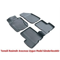 3D Paspas Opel Astra J 3D Paspas 2009 Sonrası Siyah