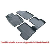 3D Paspas Volkswagen Jetta 3D Paspas 2011- 2014 Arası Siyah
