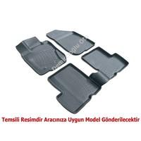 3D Paspas Nissan Qashqai Siyah Havuzlu Paspas