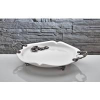 Fidex Home Bone Porselen Servis Tabağı Oval
