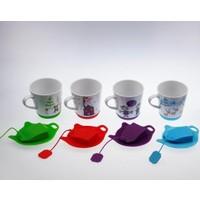Ancel Porselen Silikonlu Kupa