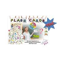Afs Yayıncılık İngilizce Flash Kartlar Mıknatıs Uygulamalı 300 Kart İlköğretim 2-3-4 Sınıflar İçin